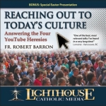 Reaching Out to Today's Culture - Answering the Four YouTube Heresies Catholic CD or Catholic MP3 by Fr. Robert Barron | faith raiser | catholic media | new evangelization | year of faith