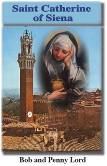 Saint Catherine of Siena by Bob and Penny Lord | Catholic Saint