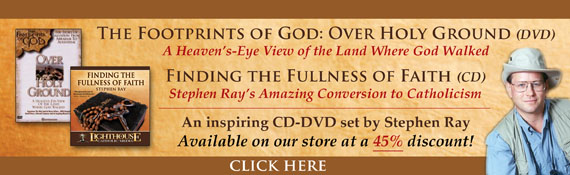 Footprints of God: Over Holy Ground, The story of Salvation | Catholic Resource | Catholic DVD by Stephen Ray