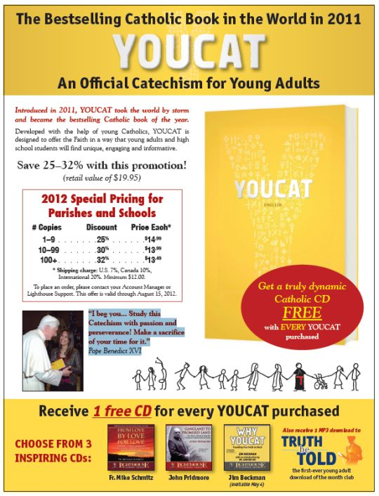 YOUCAT - An Official Catechism For Young Adults | Youth Catechism | Young Adult Catechism | Faith Raiser