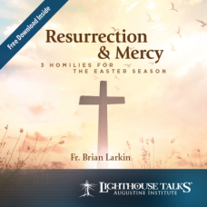 Resurrection and Mercy: 3 Homilies for the Easter Season by Fr. Brian Larkin Faithraiser Catholic Media of the Month 2020